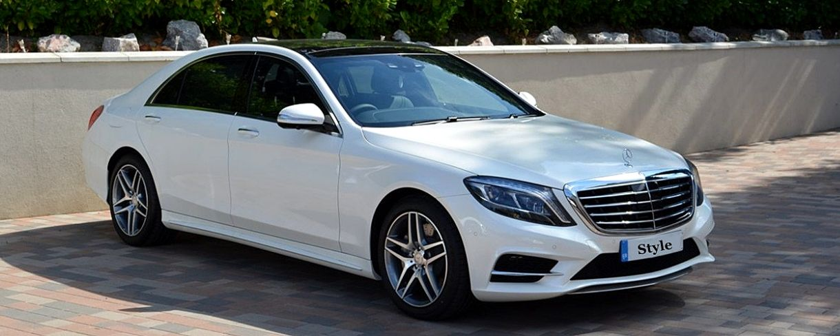 S Class Wedding Car Hire